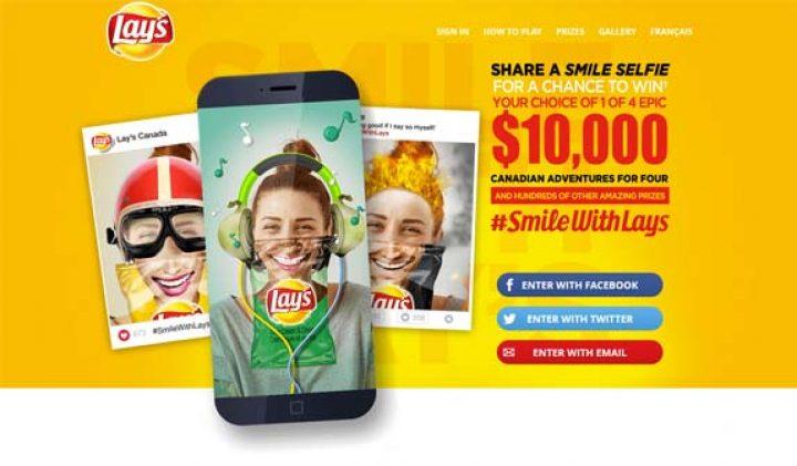 lays smile contest