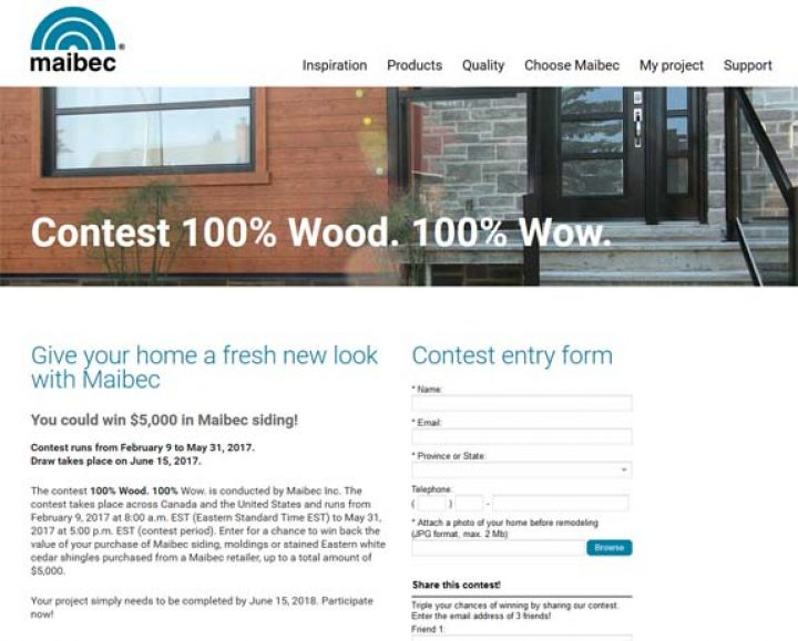 maibec contest