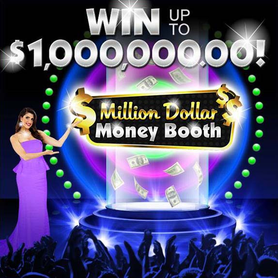 PCH Million Dollar Money Booth Game Win up to $1,000,000.00!