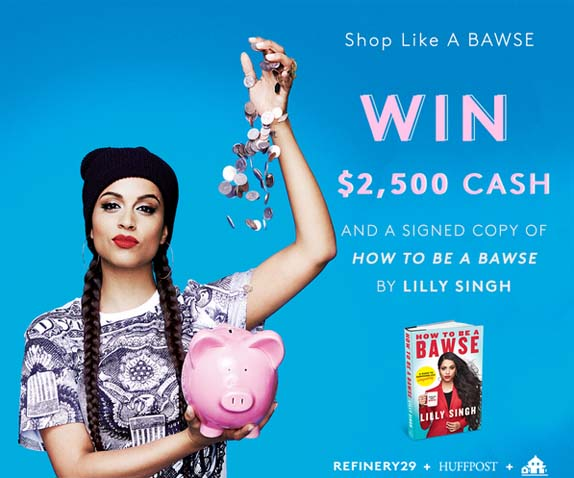 Refinery29 + Penguin Random House + Huffington Post Sweepstakes