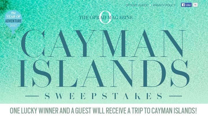 cayman islands sweepstakes