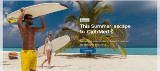 club med contest