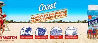 coast sweepstakes
