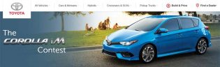 ✨ Win with Corolla iM Contest ✨