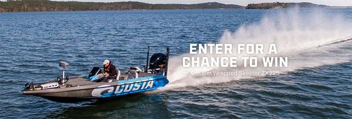 costa boat giveaway