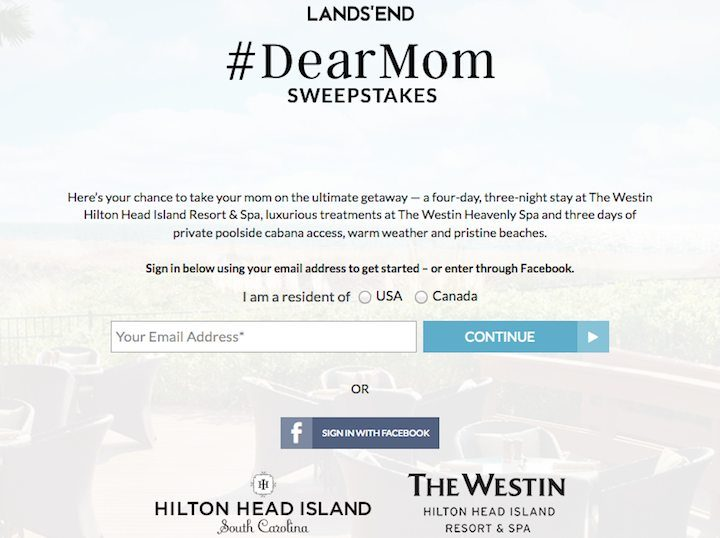 dearmom sweepstakes