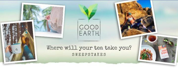 good earth sweepstakes