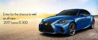 WIN a Lexus IS 300 Contest