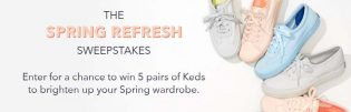 Keds Spring Refresh Sweepstakes