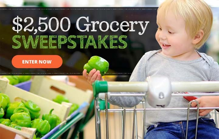 2500 grocery sweepstakes