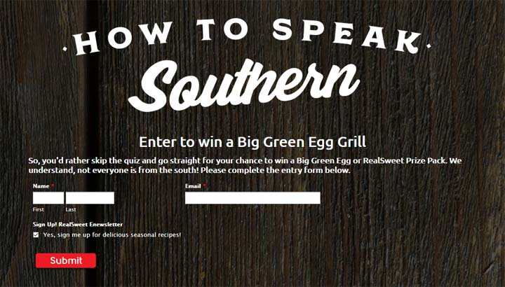 How to Speak Southern Sweepstakes