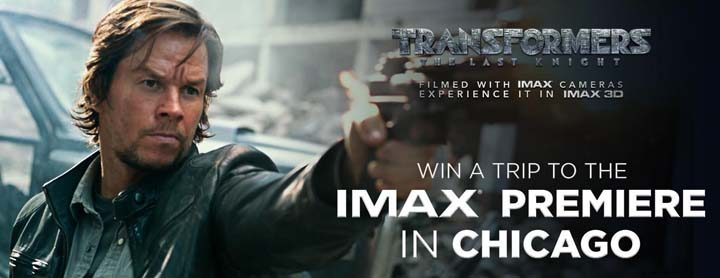 imax premiere in chicago sweepstakes