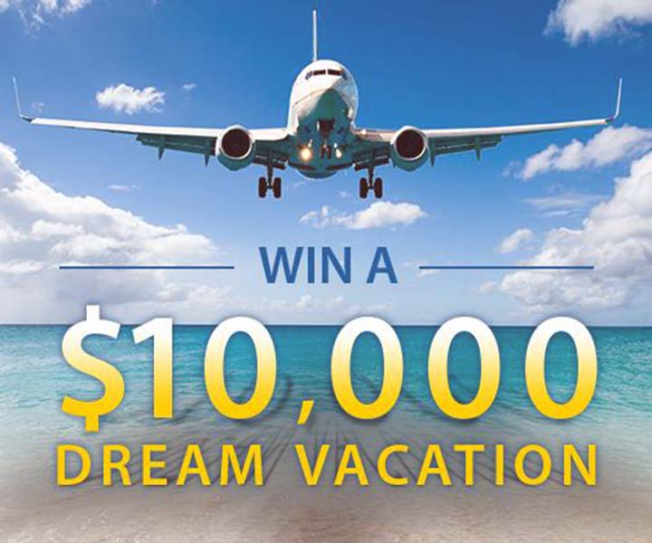 PCH Win $10,000 and take that Dream Vacation Giveaway