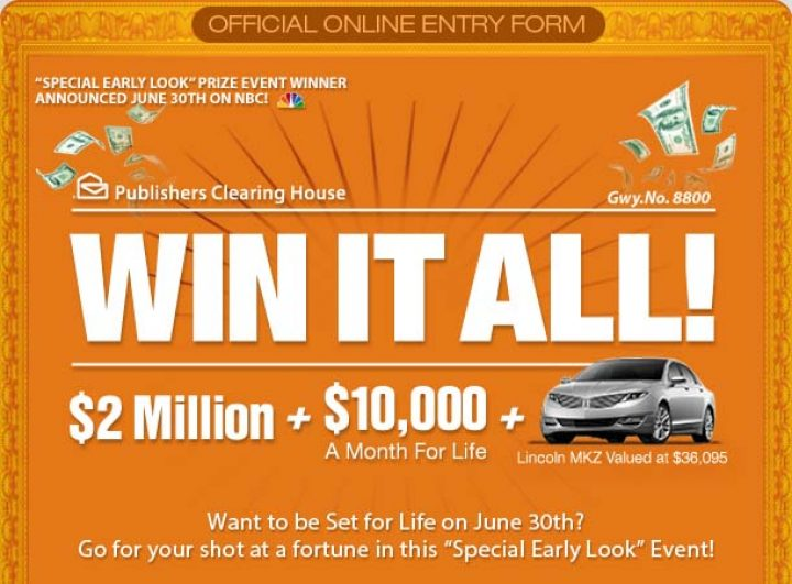 PCH $5,000 A Week Forever Sweepstakes 2019