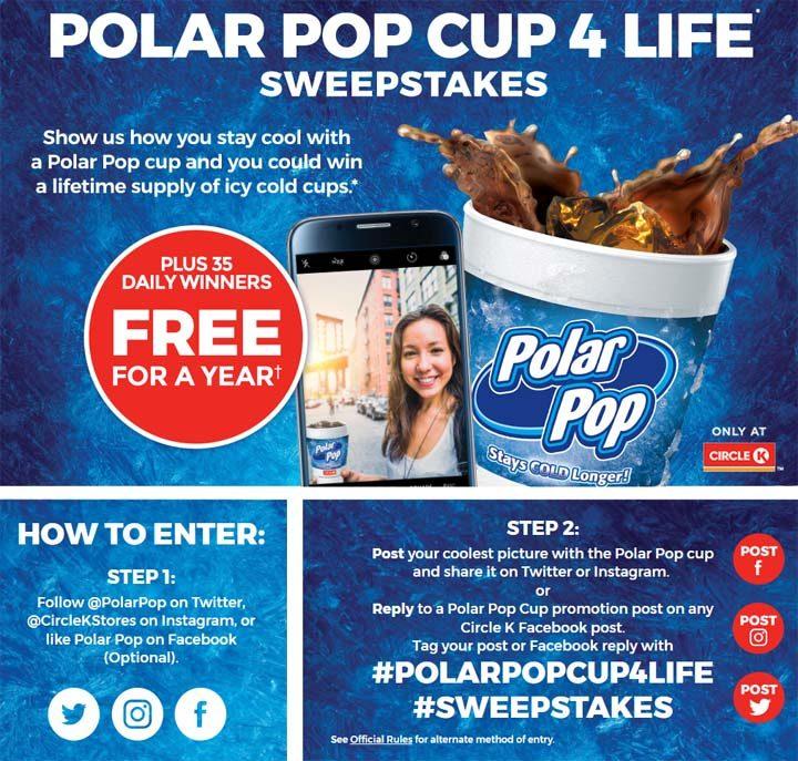 polar pop cup contest