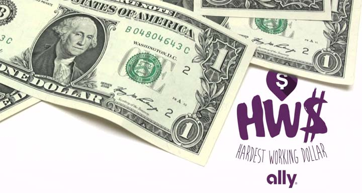 Ally Hardest Working Dollar Sweepstakes