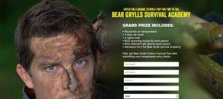 bear grylls sweepstakes