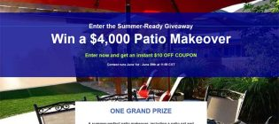 blinds patio makeover giveaway