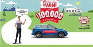 Bring Your Toyota Home & Win Contest