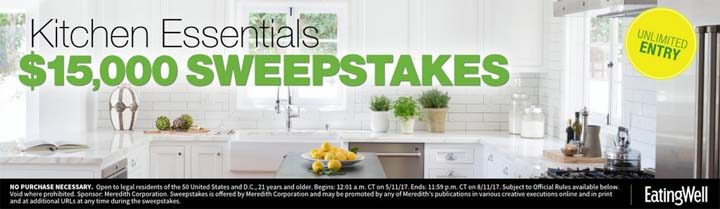 eatingwell sweepstakes