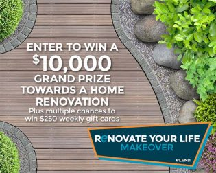 eLEND Renovate Your Life Makeover Sweepstakes