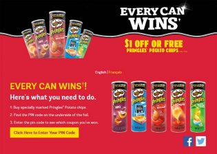 Pringles Coupon Contest