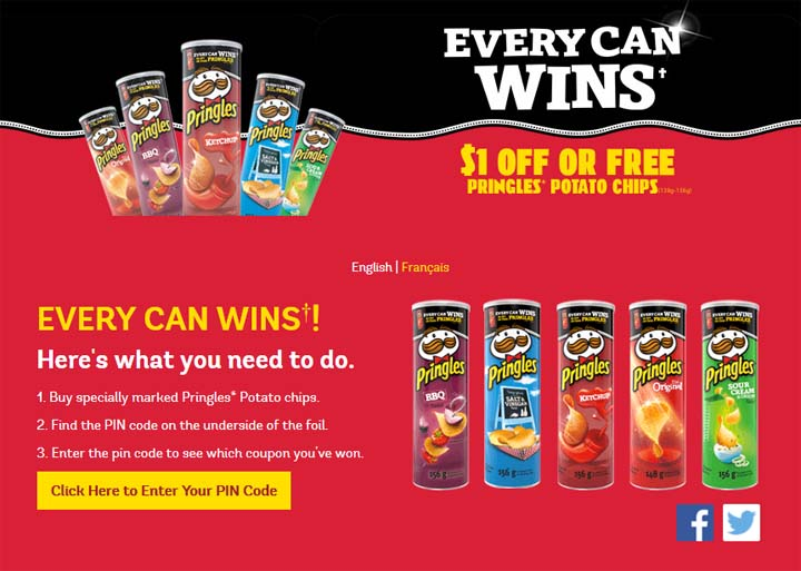 Pringles Coupon Contest