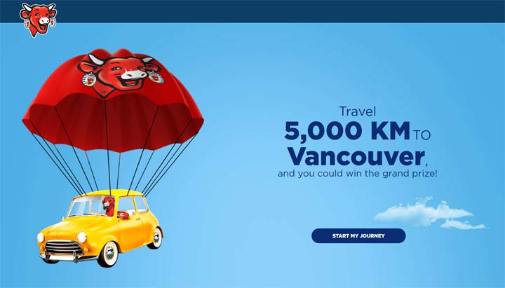 Win your Canadian Family Adventure with the Laughing Cow Contest