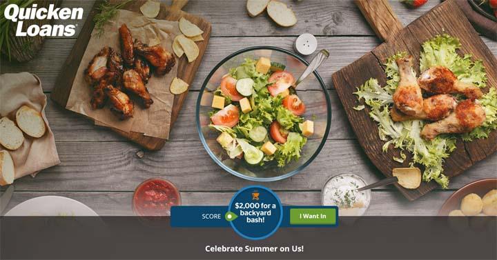 Quicken Loans Summertime Backyard Bash Promotion