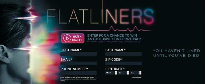 sony-flatliners-sweepstakes