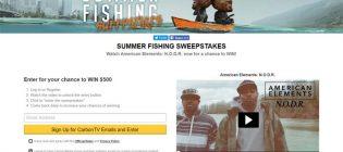 summer fishing sweepstakes