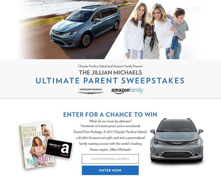 ultimate parent sweepstakes