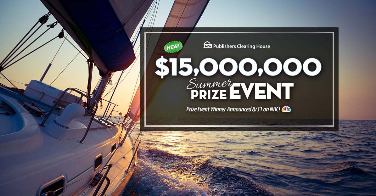 PCH NBC $15,000,000 Summer Prize Event SuperPrize 8800