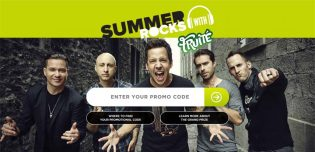 Simple Plan Summer Rocks with Fruité Contest