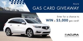 Acura Gas Card Giveaway Contest
