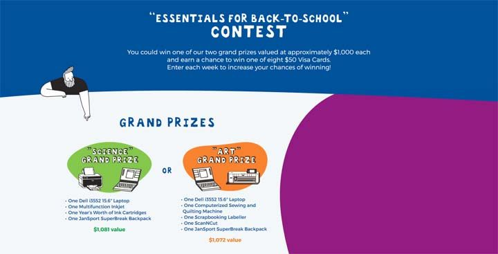 Brother Back-To-School Contest