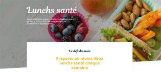 Concours Défi Santé – Lunchs santé