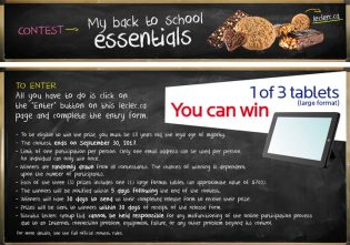 Leclerc My back to school essentials Contest