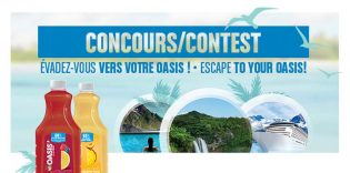 Oasis Hydrafruit ESCAPE TO YOUR OASIS! Contest
