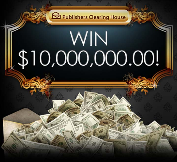 Publishers Clearing House PCH $10 Million SuperPrize No 8800