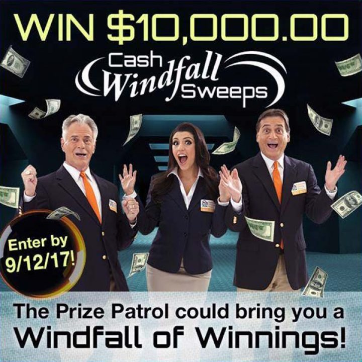 PCH Win $10,000 00 Cash Windfall Sweepstakes | Sweepstakes PIT