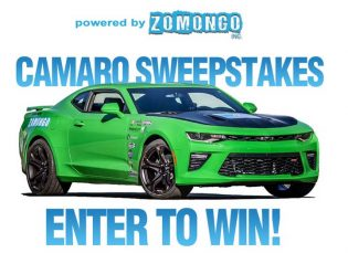 Powered by ZOMONGO Sweepstakes