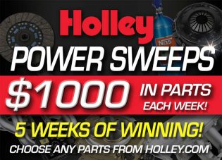 Holley Performance Power Sweepstakes
