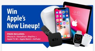 Win Apple's New Lineup Giveaway