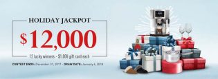 Linen Chest's $12,000 Holiday Jackpot Contest