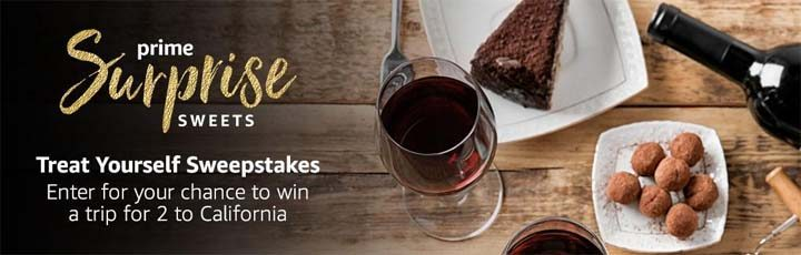 Prime Surprise Sweets Treat Yourself Sweepstakes