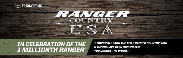 Polaris Ranger Country USA Giveaway