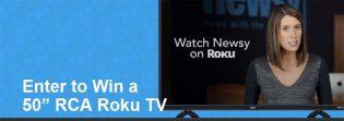 "50"" Roku TV Sweepstakes"