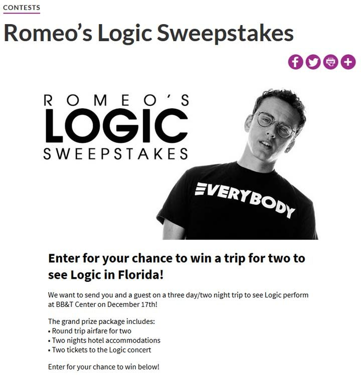 sweepstakes logic romeo s logic sweepstakes mostrequestedlive com 8784