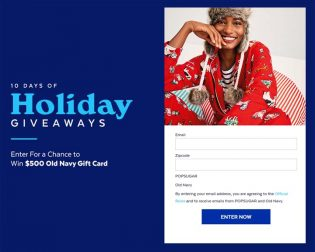 10 Days of Holiday Giveaways Old Navy Sweepstakes